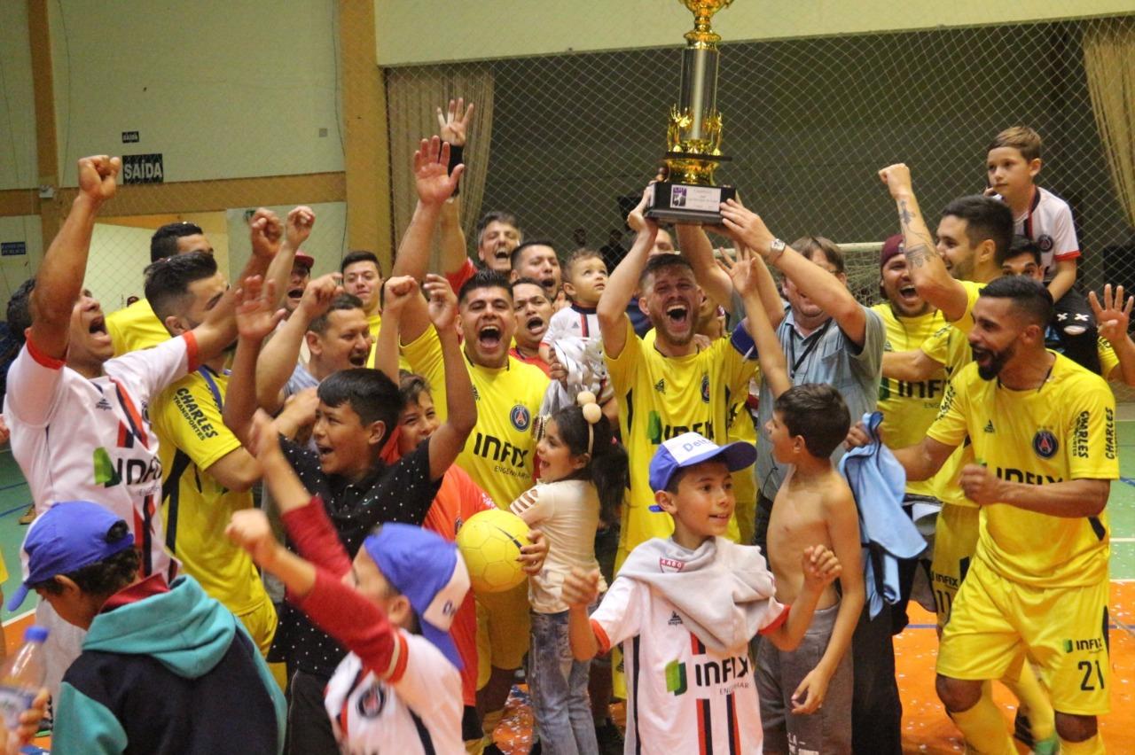 PSG e BFC são os grandes campeões da Liga Municipal de Futsal de Bento Gonçalves