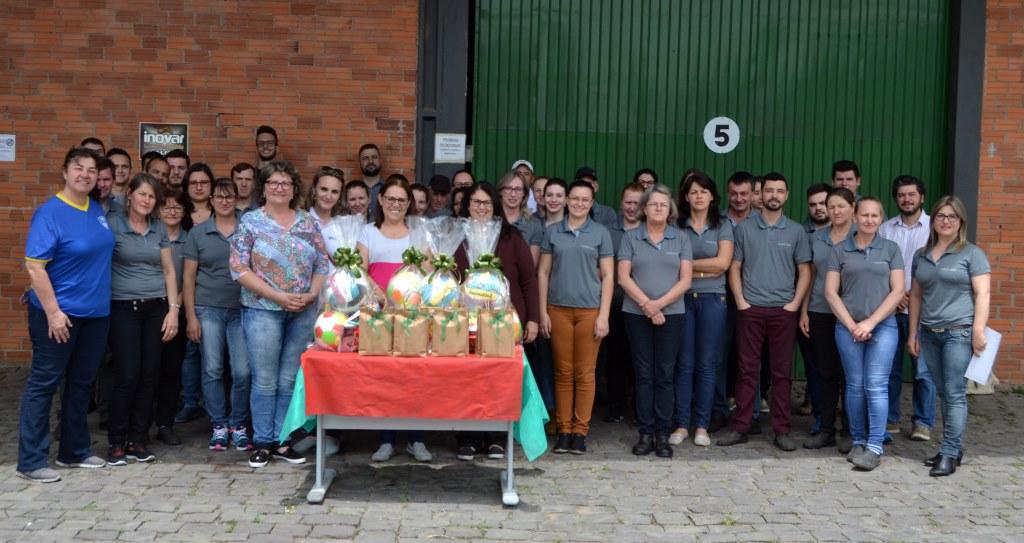Masutti Copat engaja equipe em ação de solidariedade