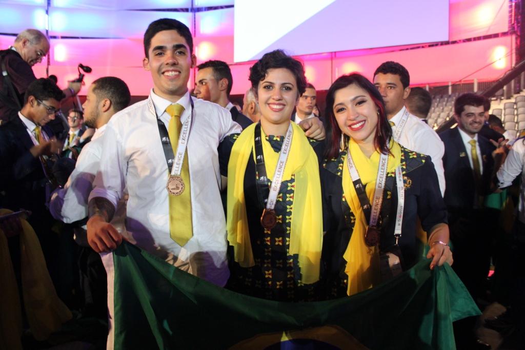 WorldSkills 2017: Senac-RS ganha medalha de excelência nas três ocupações em que disputou