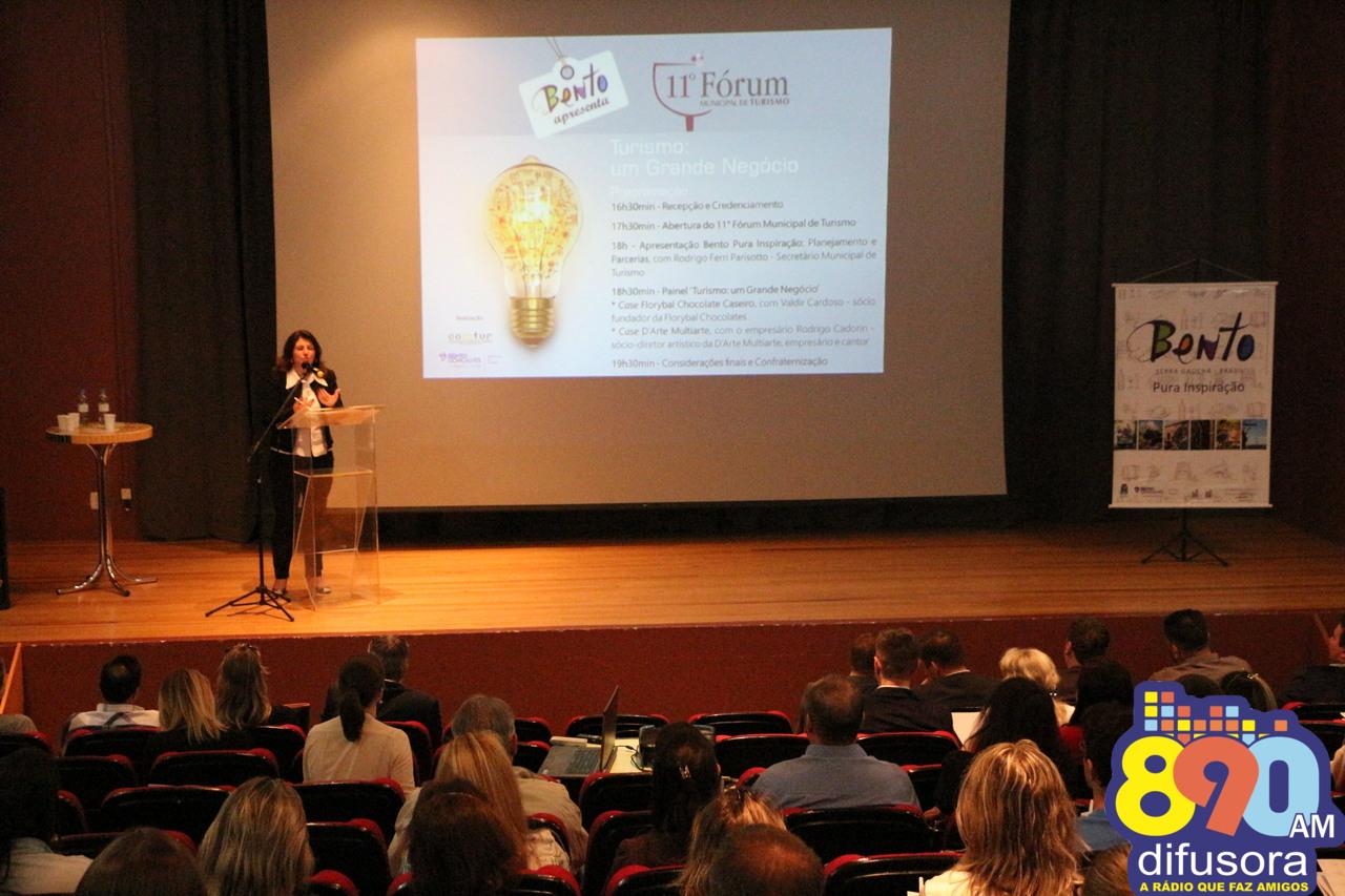 11º Fórum Municipal debate o turismo como negócio em Bento