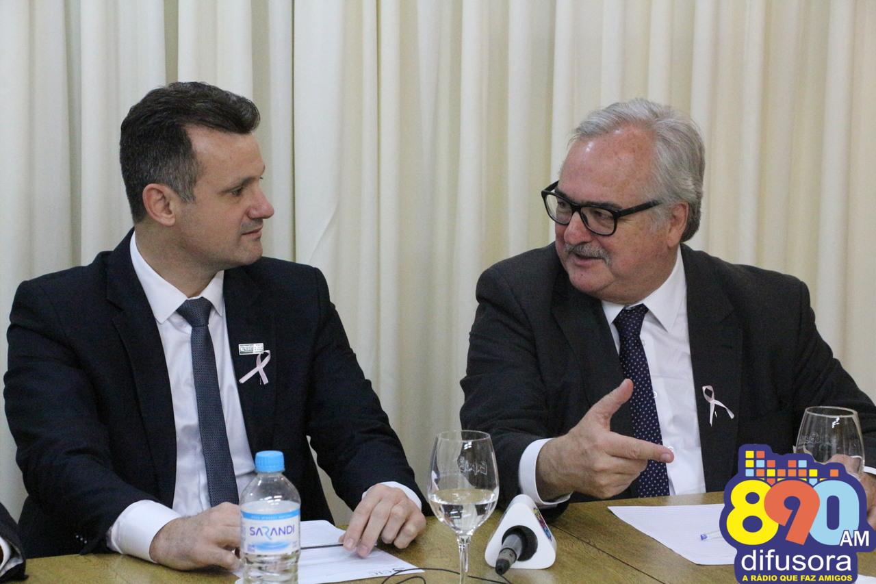 Em palestra no CIC/BG, Westphalen reforça melhorias em rodovias da região de Bento