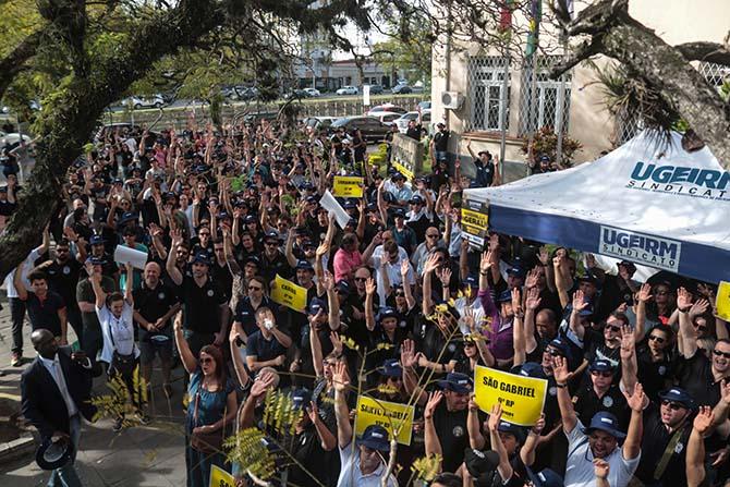 Polícia Civil Gaúcha anuncia greve a partir da próxima segunda