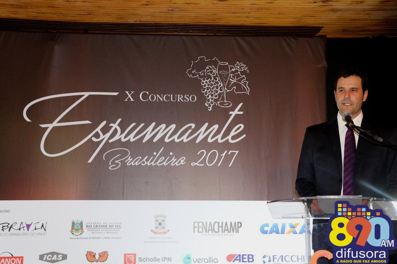 Na Fenachamp, destaques do X Concurso do Espumante Brasileiro são premiados