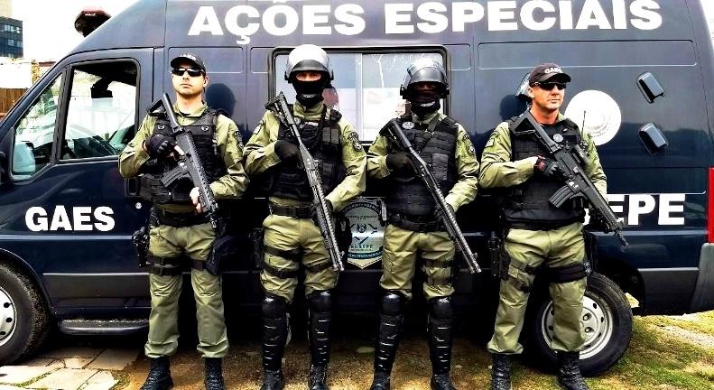 Grupo de Ações Especiais (GAES) da Susepe tem nova cor no uniforme