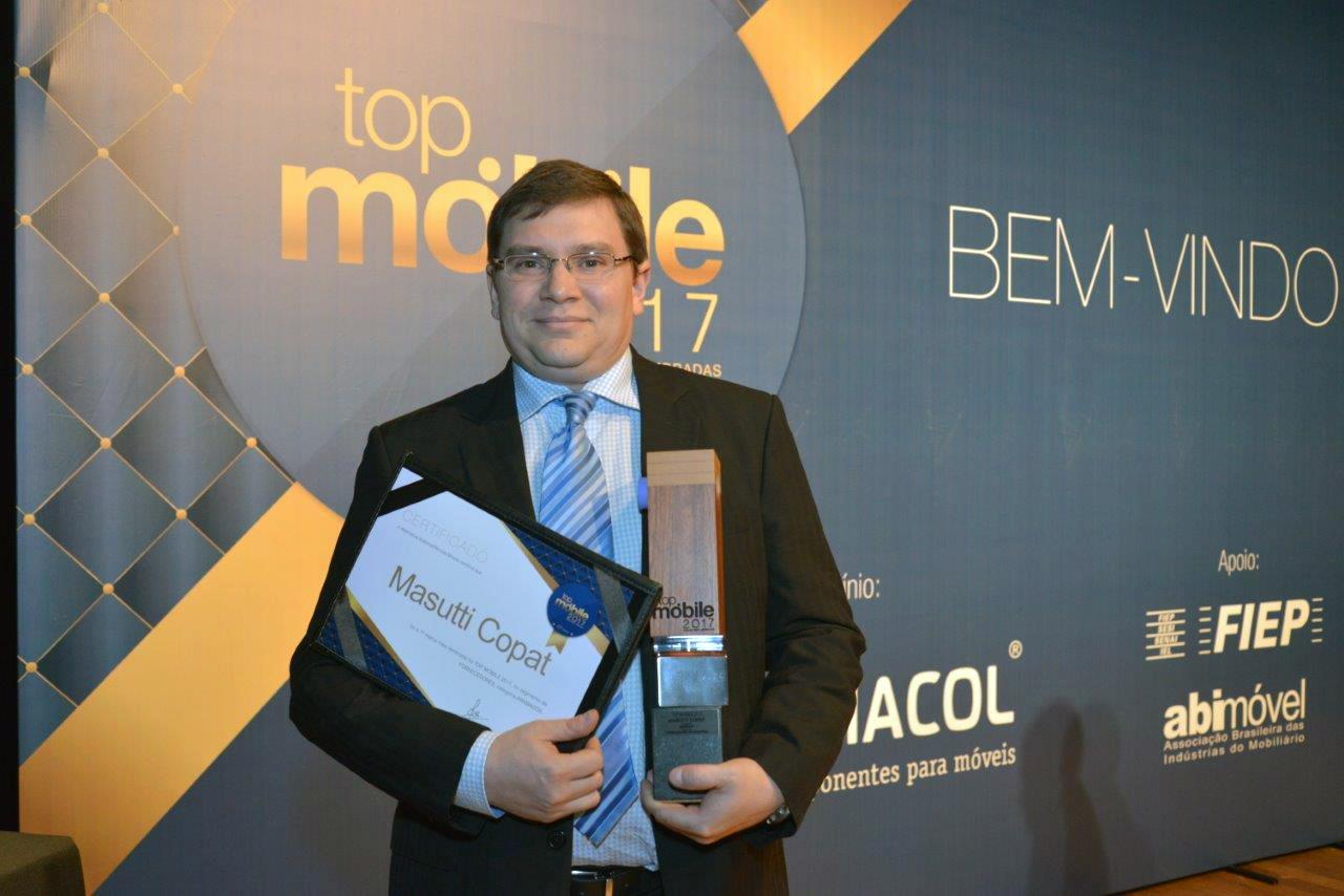 Masutti Copat é bicampeã do Prêmio Top Móbile em 2017