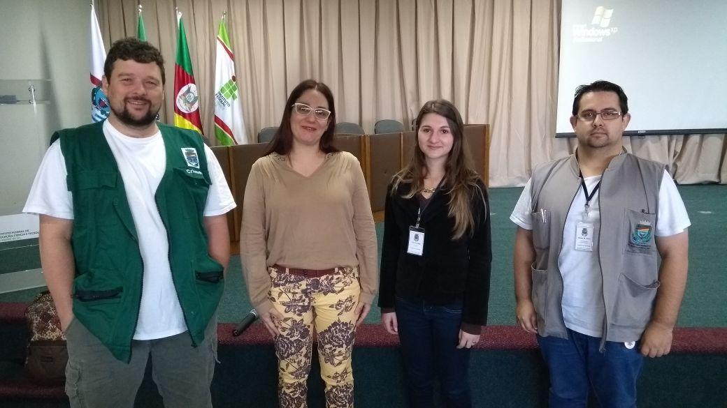 Acadêmica apresenta Curso de Capacitação para técnicos de açougues e fiambrerias em Bento
