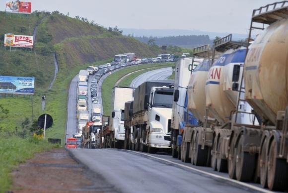 Pesquisa do governo indica que 67% da malha rodoviária têm boas condições de uso
