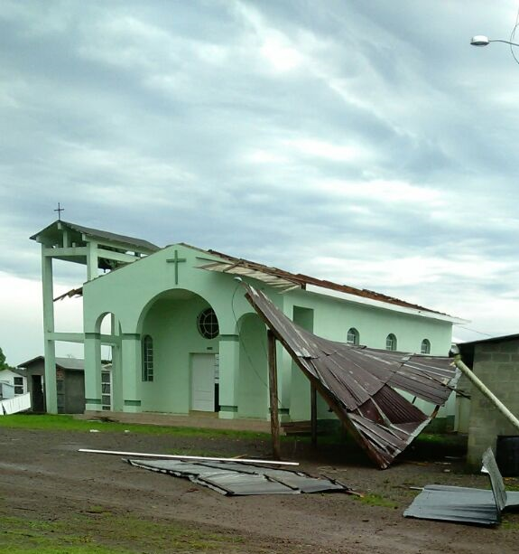 Temporal causa prejuízos em Cotiporã