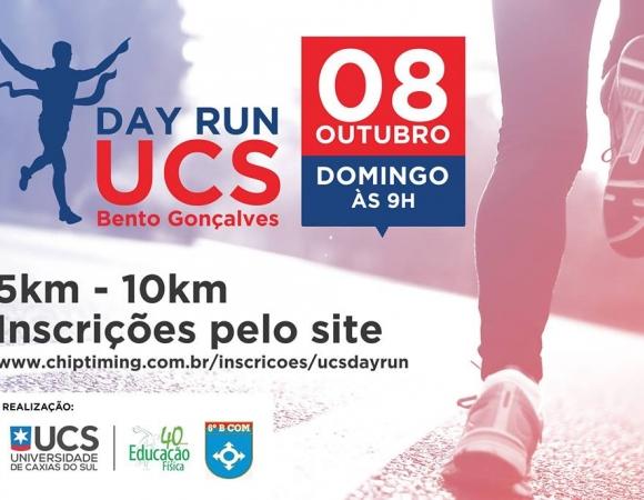 UCS Day Run ocorre no domingo em Bento