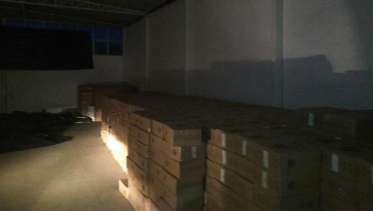 PF apreende 650 mil maços de cigarro em Lajeado