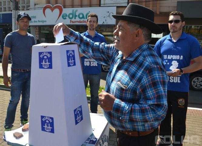 Separatistas realizam plebiscito no sábado