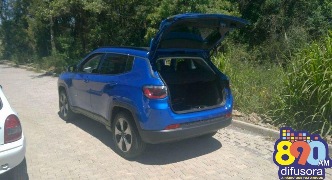 Brigada recupera em Garibaldi carro roubado em assalto a residência em Bento
