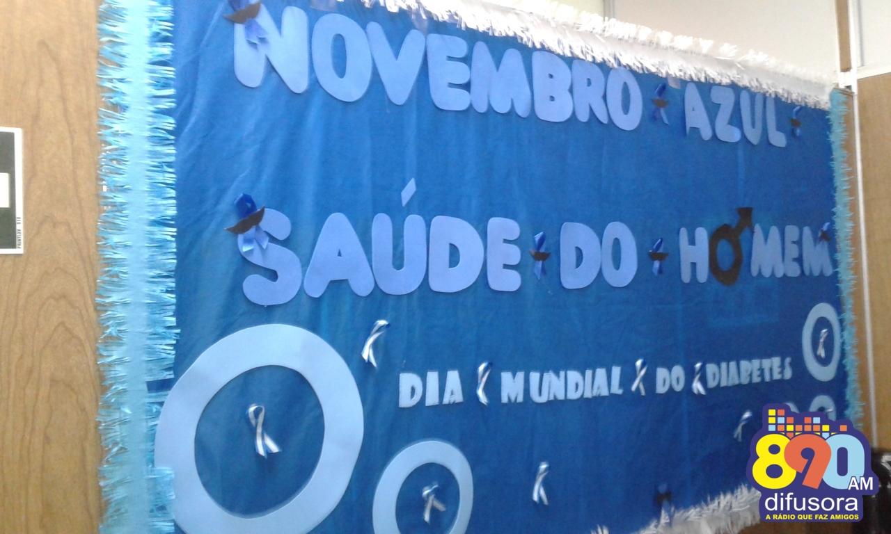 Saúde de Bento atende cerca de 2.500 homens no Novembro Azul