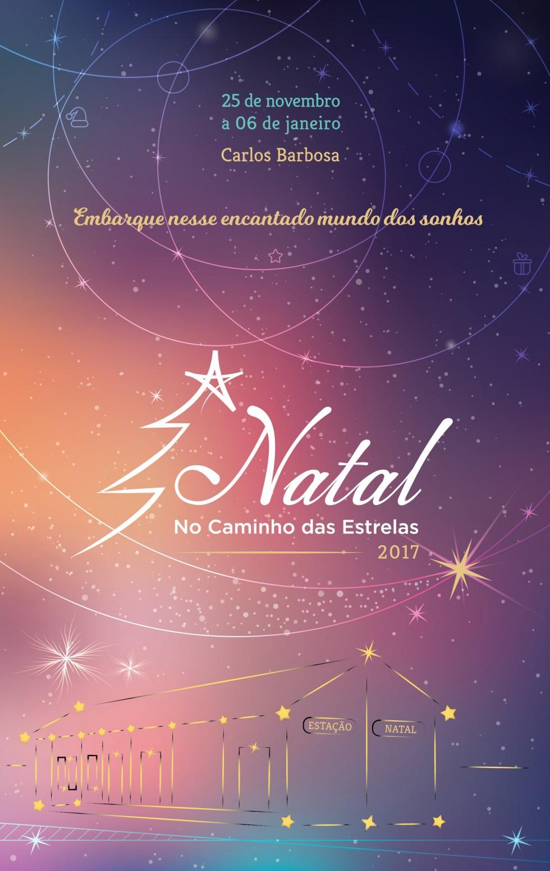 Prefeitura de Carlos Barbosa divulga a programação do Natal no Caminho das Estrelas