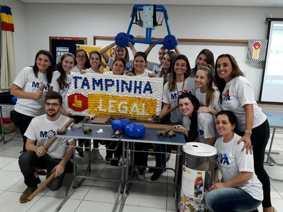Tampinha Legal completa um ano de atividades  socioambientais e ganha força no País