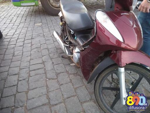 Acidente de trânsito deixa motociclista com lesões graves em Bento Gonçalves