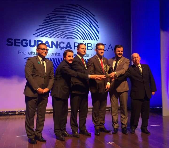 16ª edição do Prêmio Gestor Público reconhece ações em prol da segurança em Bento