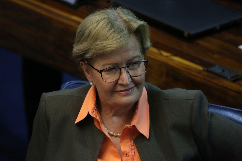 Senadora Ana Amélia (PP-RS) é a 1ª colocada no Ranking dos Políticos