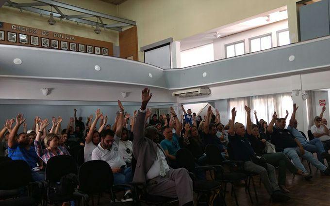 Assembleia Geral aprova greve da Polícia Civil a partir de segunda-feira
