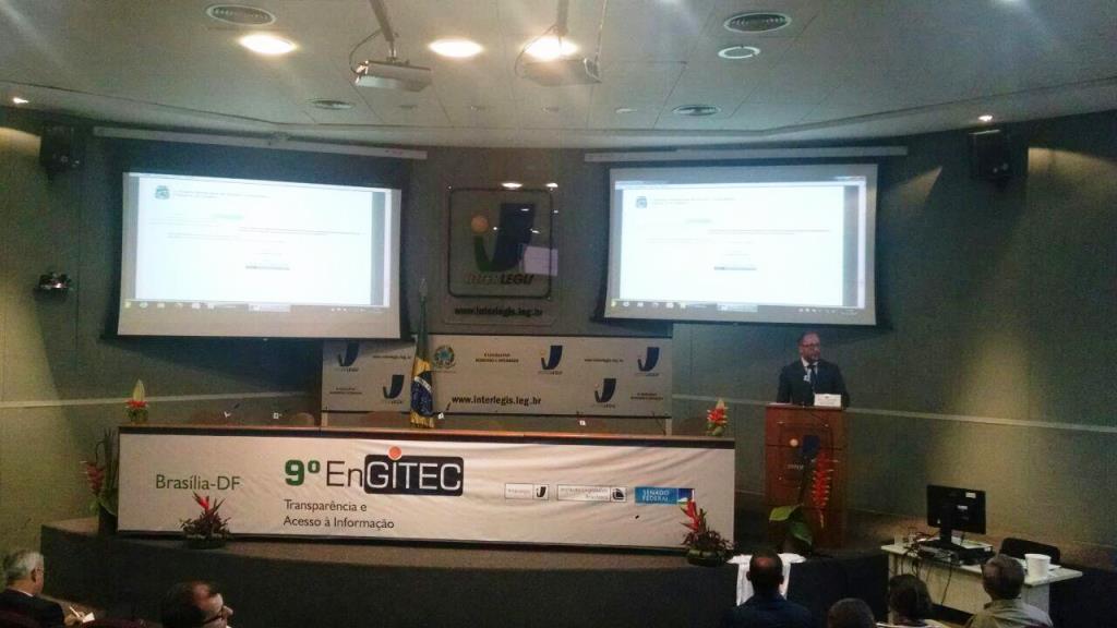 Câmara de Bento participa do 9º Encontro Nacional do Grupo Interlegis de Tecnologia