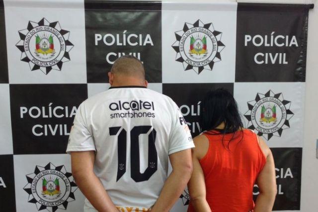 Casal é preso por tráfico de drogas em Farroupilha