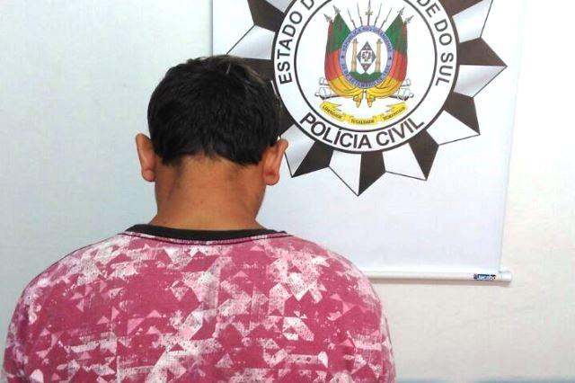 Preso suspeito de tentativa de homicídio em Espumoso