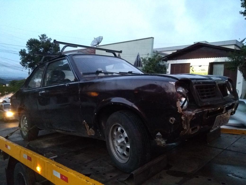 Furtos de veículo são registrados em Bento