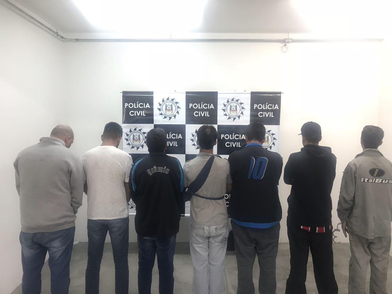 Polícia Civil prende dez membros de organização criminosa em Caxias do Sul