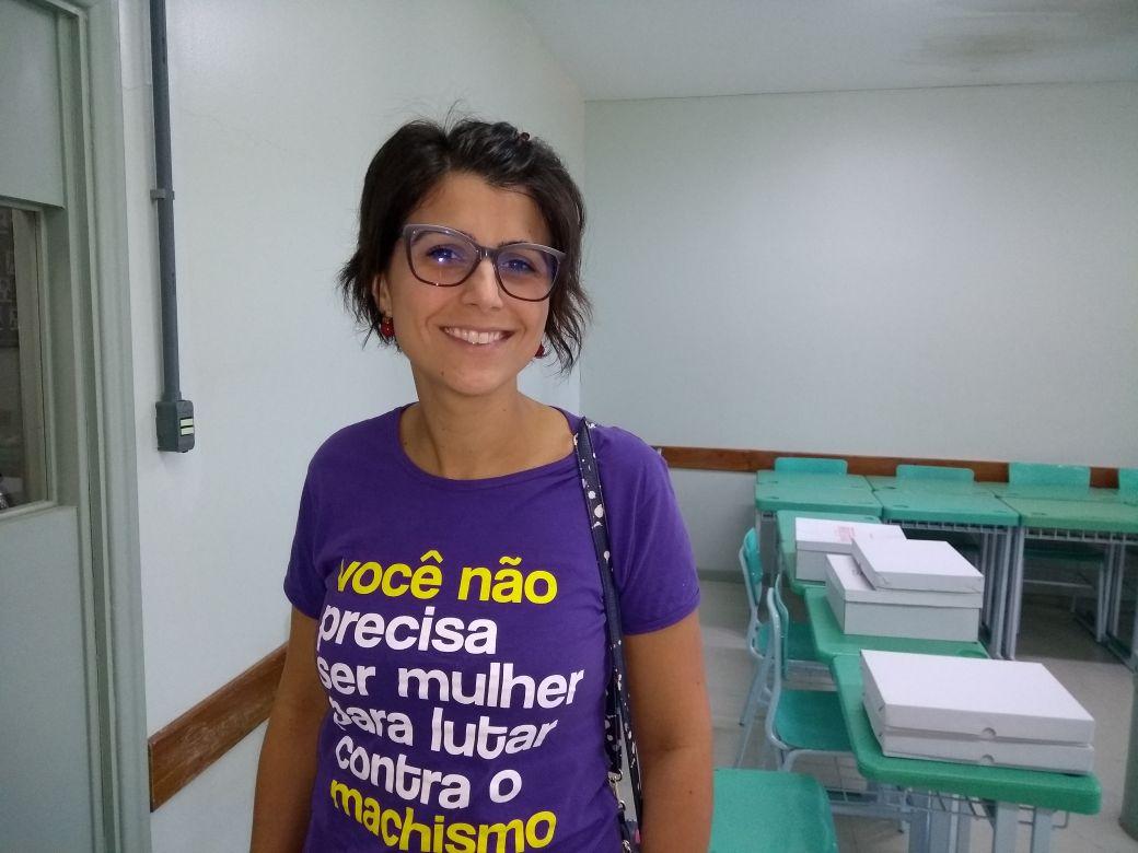 Manuela ministra seminário em Bento e confirma pré-candidatura à presidência