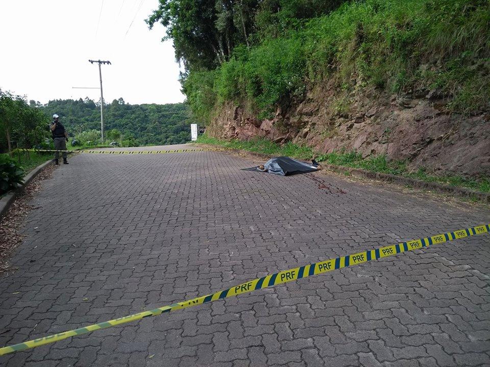 Identificado homem morto nas margens da BR 470