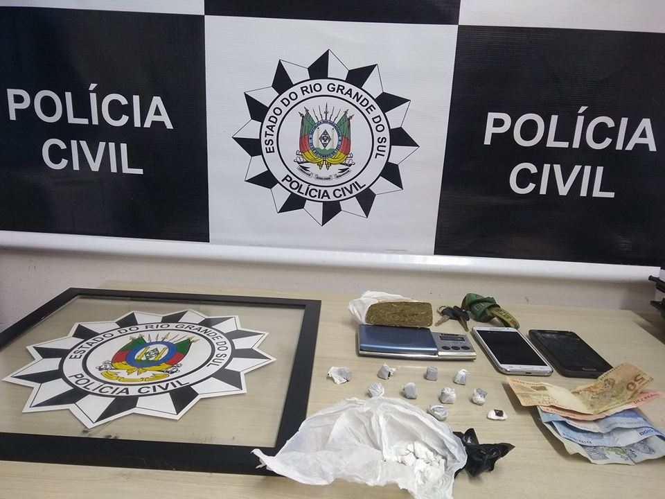 Operação Ícaro da Polícia Civil prende quatro pessoas em Bento