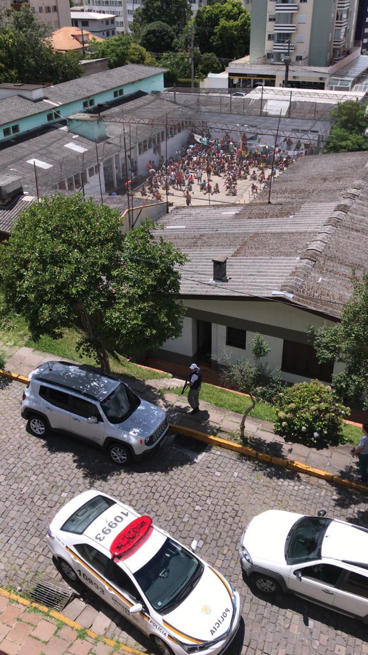 Brigada impede fuga no Presídio de Bento