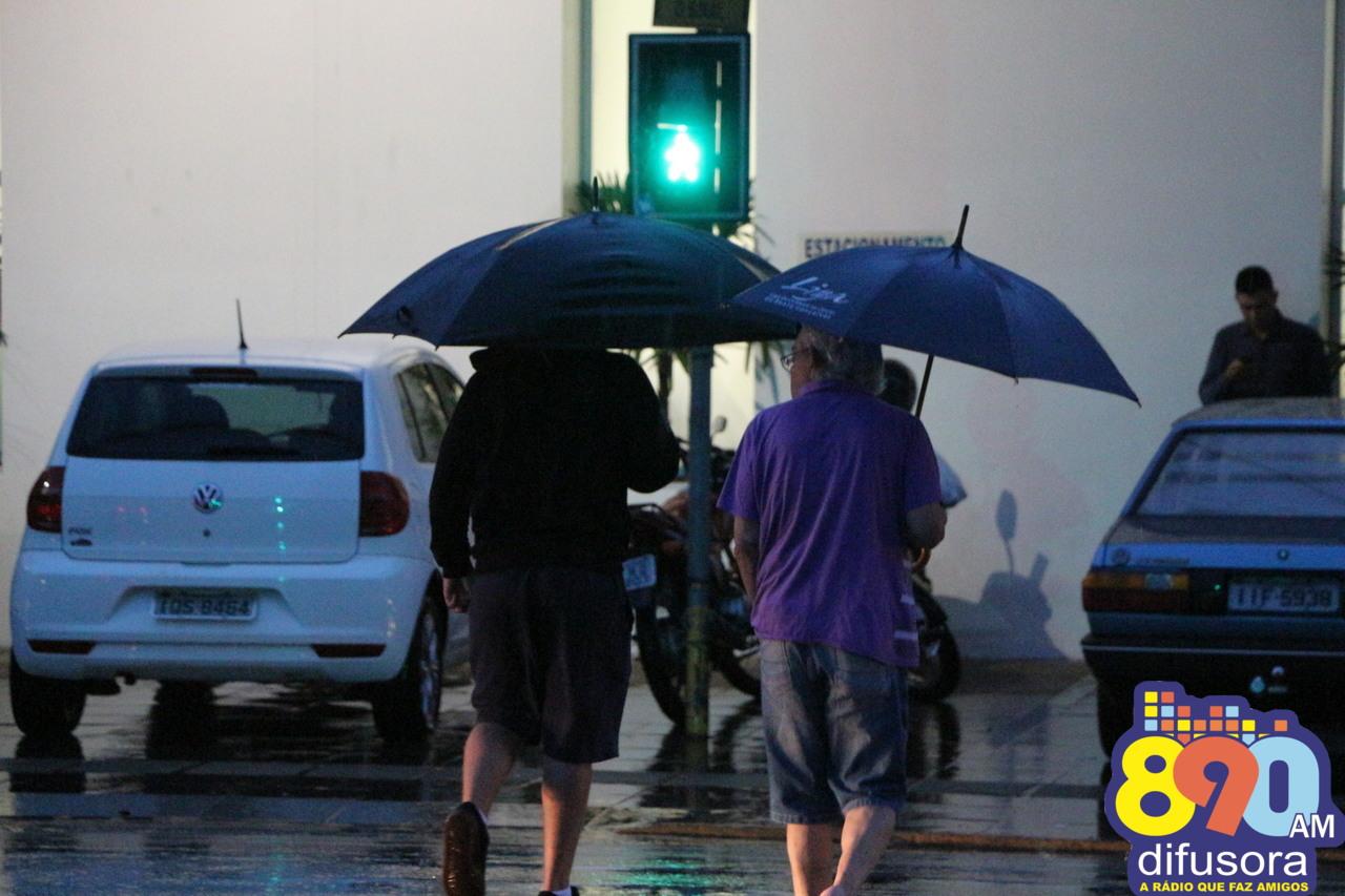 Chuva e umidade persistem no Estado nos próximos dias