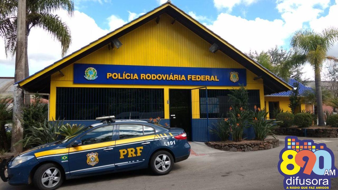 PRF prende homem não habilitado dirigindo embriagado na BR-470 em Bento