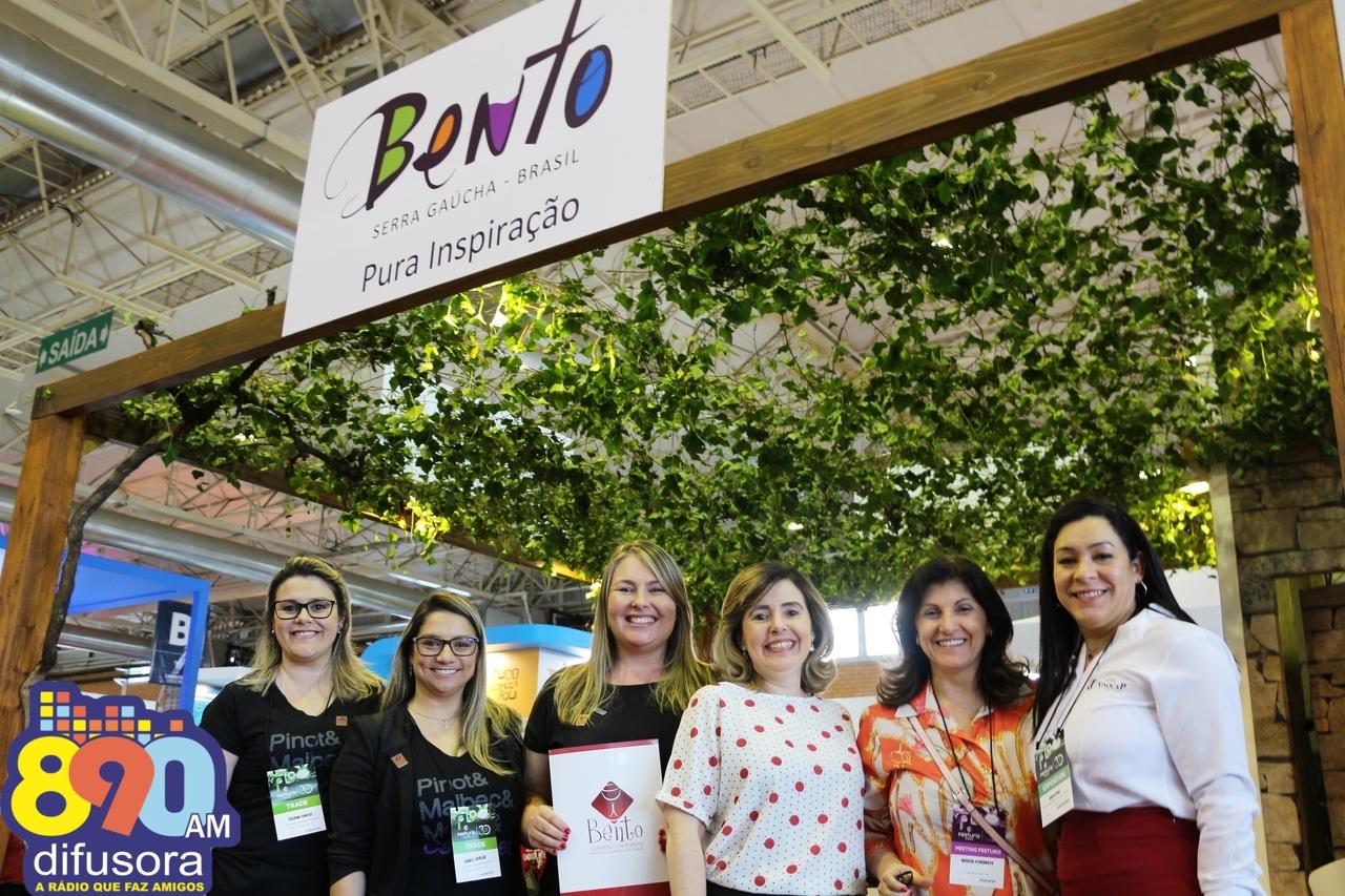 Bento Convention Bureau marca presença no 30º Festuris