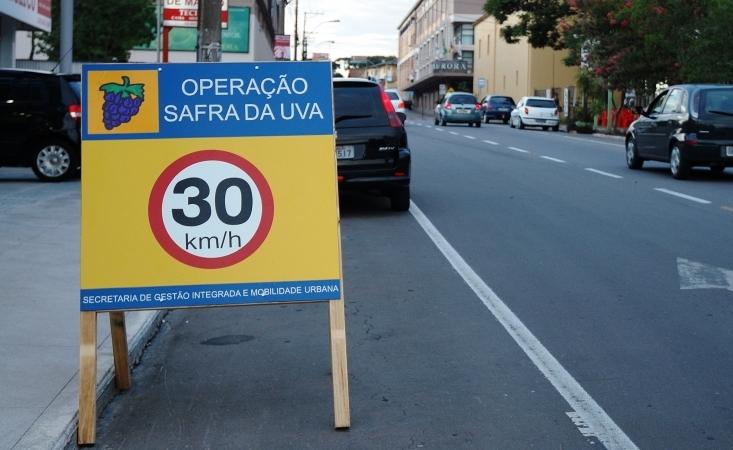 Em virtude da safra, trânsito em Bento terá alterações e rotas específicas