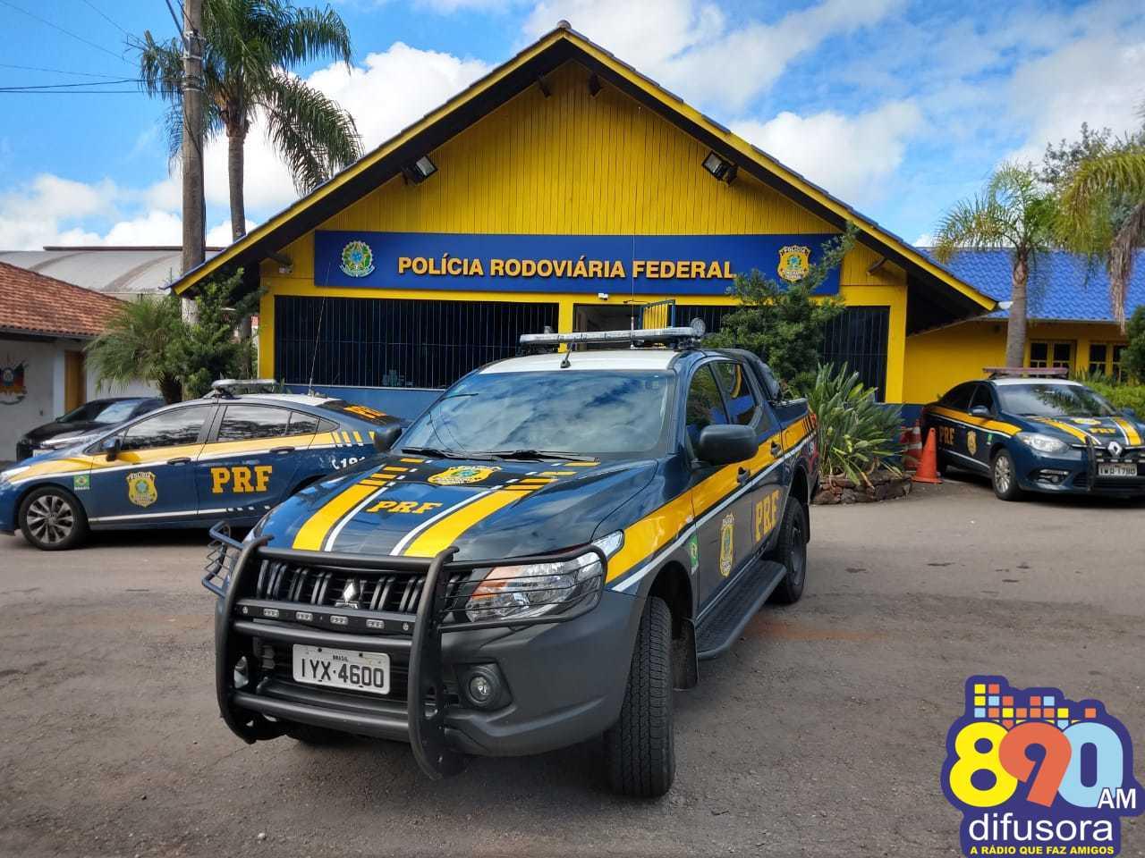 PRF prende caminhoneiro por posse de entorpecentes em Bento Gonçalves