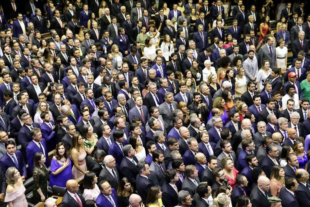 Empossados 31 deputados gaúchos na Câmara Federal