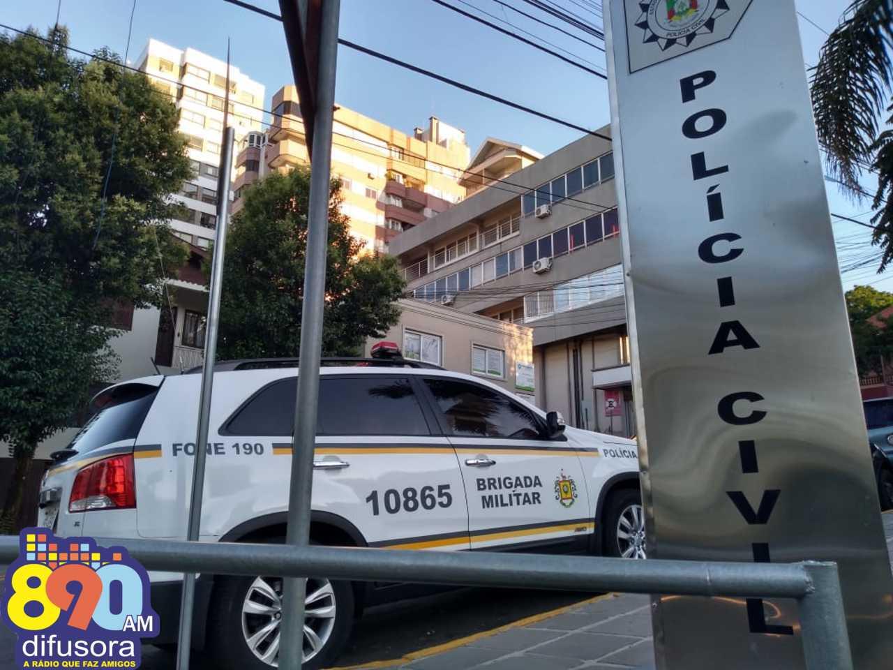 POE cumpre mandado de prisão no bairro botafogo em Bento Gonçalves