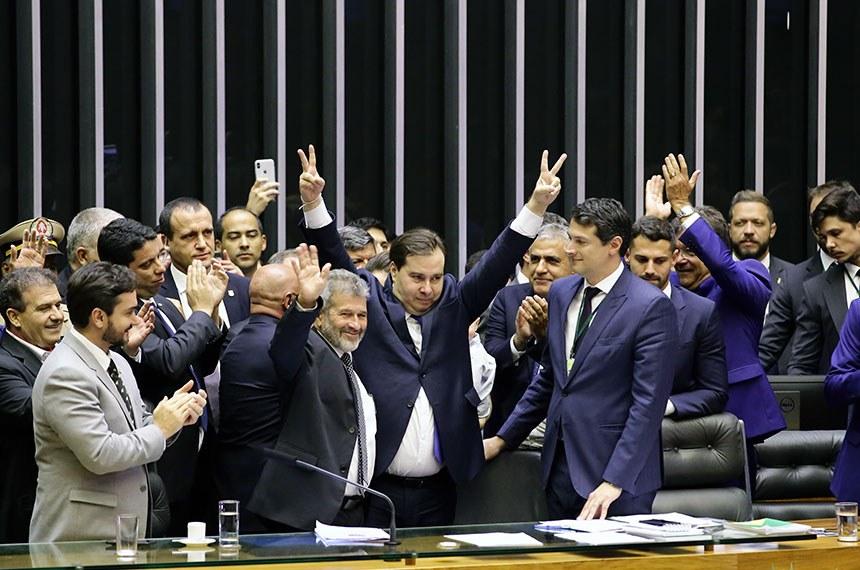 Câmara dos Deputados elege Rodrigo Maia pela 3ª vez consecutiva na presidência