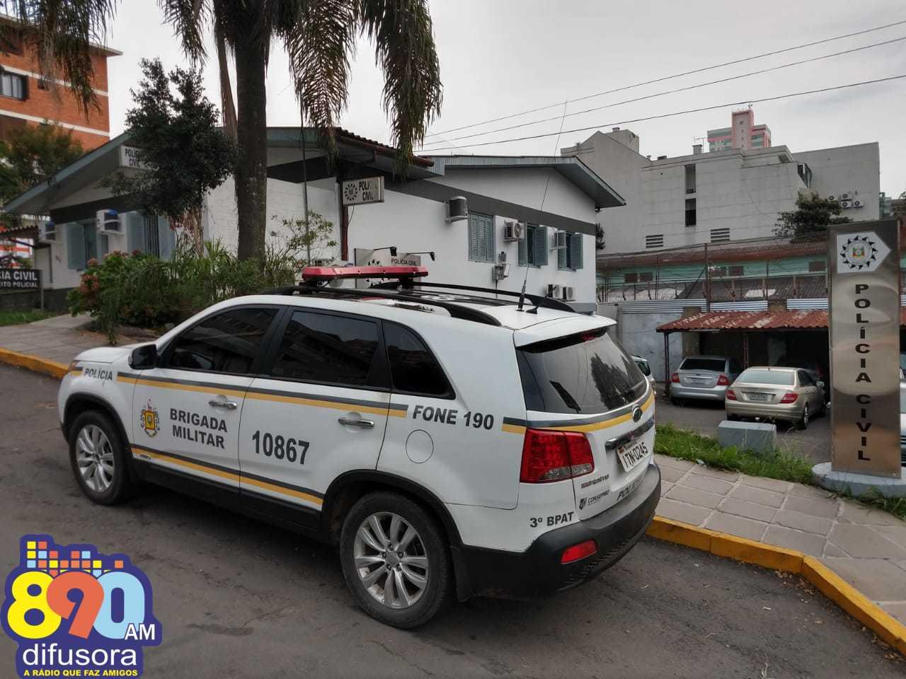 Adolescentes são apreendidos pela BM após ocorrência de disparos de arma de fogo no Conceição em Bento
