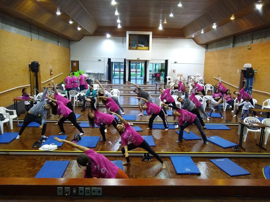 Gestantes participam de atividades especiais promovidas  pelo Centro Obstétrico do Hospital Tacchini