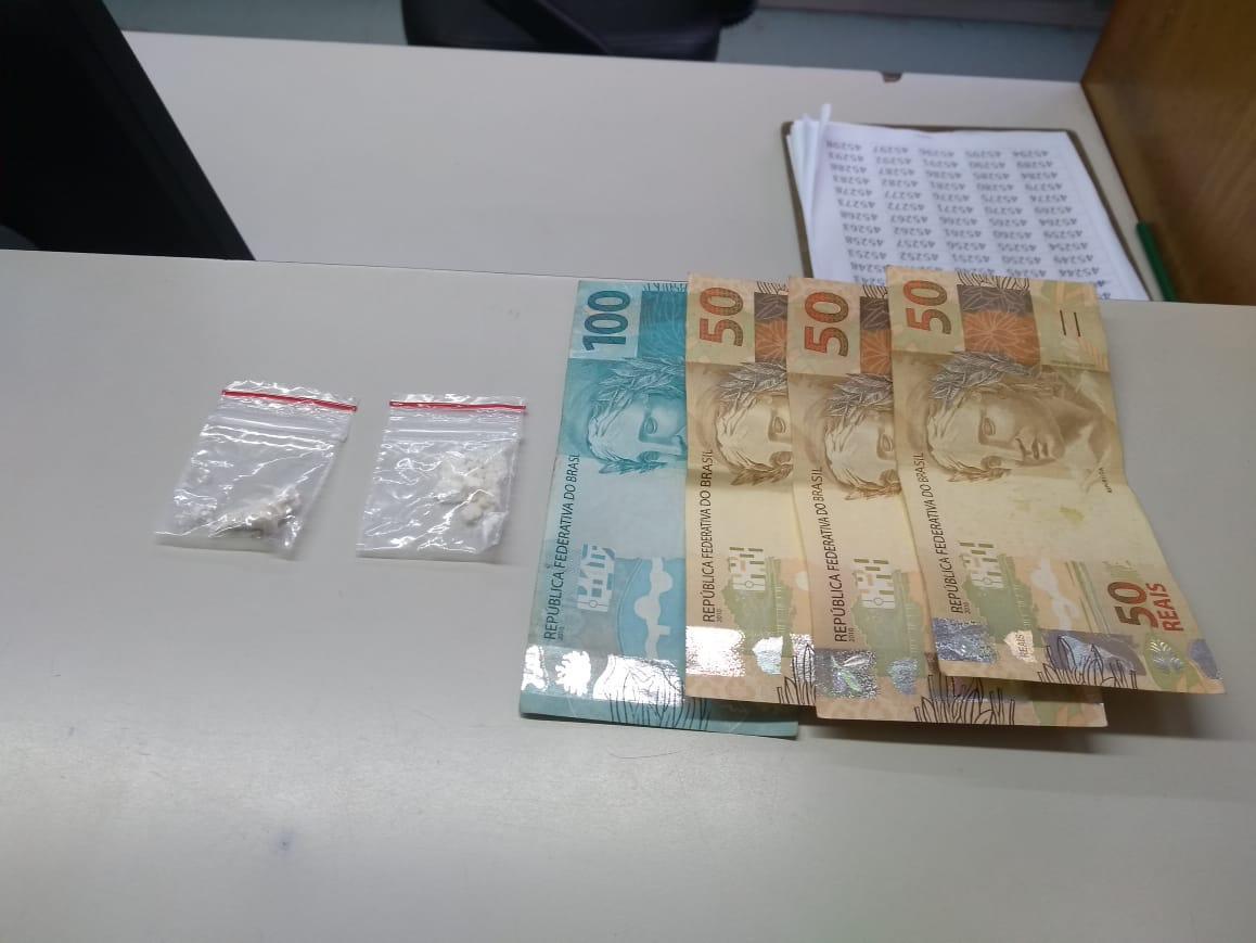 Brigada militar prende indivíduo por tráfico de drogas no São Francisco em Bento