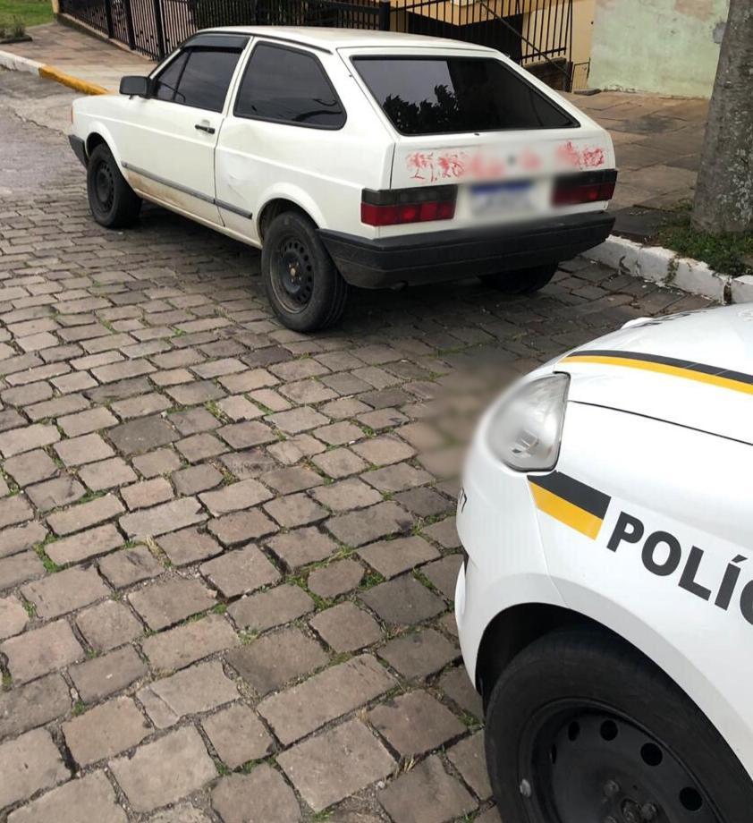 Brigada Militar de Veranópolis localiza arma escondida em motor de veículo