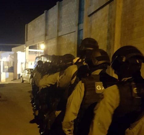 Operação é desencadeada no Presídio Regional de Caxias do Sul