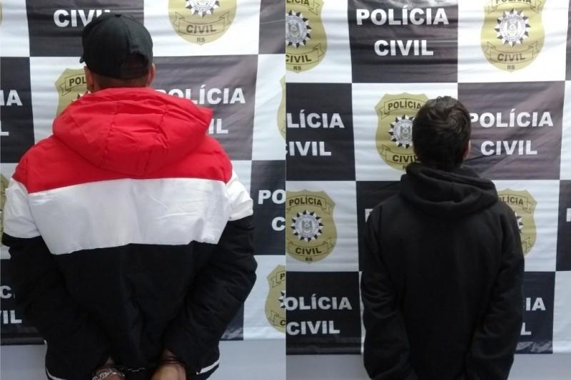 Dois suspeitos de tentativa de homicídio são presos em Caxias do Sul