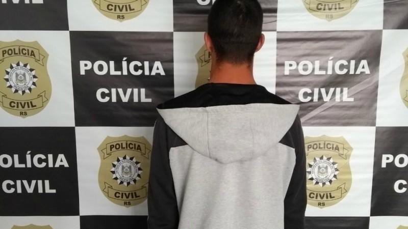 Homem é preso por envolvimento em homicídio em Caxias do Sul