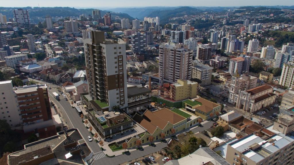 Projeto de Complexo Comercial, Turístico e Residencial em prédio que abrigou a Vinícola Salton é apresentado