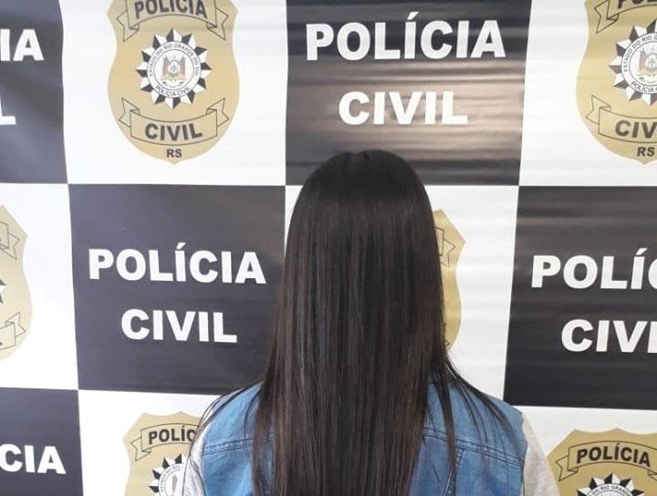 Polícia Civil prende foragida da justiça em Caxias