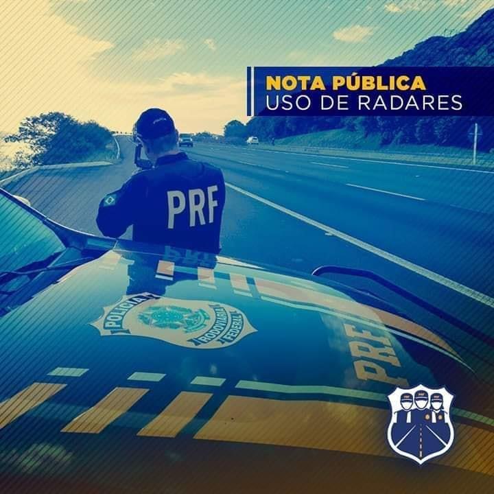 Federação Nacional dos Policiais Rodoviários divulga nota sobre suspensão dos radares móveis